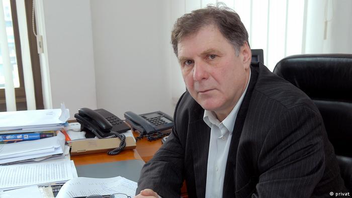Nord-Mazedonien Journalist Erol Rizaov (privat)