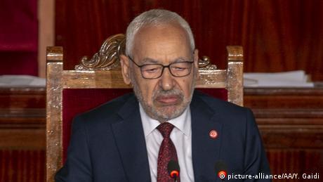 راشد الغنوشي، رئيس البرلمان التونسي المجمد 13 نوفمبر 2019(أرشيف)