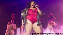 American singer-songwriter Lizzo (born Melissa Viviane Jefferson) performs a second night at Brixton Academy, London, England, UK on Thursday 7 November 2019. Picture by Justin Ng/Retna/Avalon. |