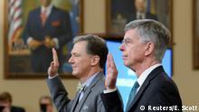 USA Impeachment öffentliche Anhörung George Kent und William Taylor