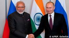 Brasilien BRICS-Treffen Modi und Putin