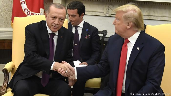 Washington Staatsbesuch Erdogan bei Trump