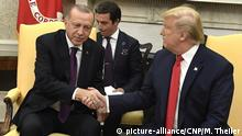Washington Staatsbesuch Erdogan bei Trump (picture-alliance/CNP/M. Theiler)