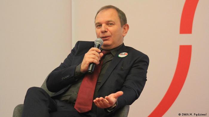 Dyrektor Fundacji Współpracy Polsko-Niemieckiej Cornelius Ochmann