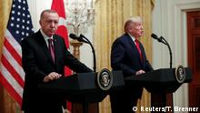 USA, Washington: Donald Trump und Erdogan