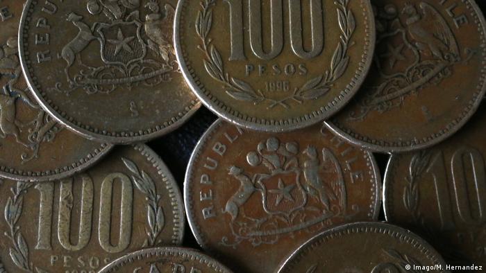 Symbolbild- Chile- Münze- Peso