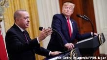USA, Washington: Donald Trump trifft Erdogan