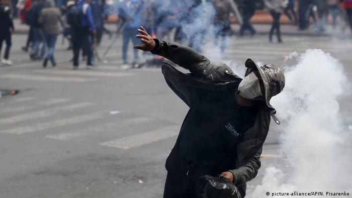 Erneute Proteste in Bolivien