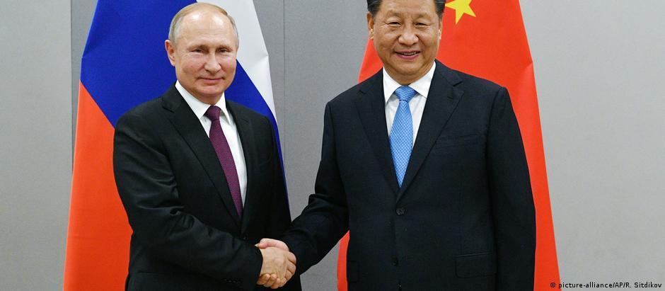 BRICS - Putin und Xi Jinping