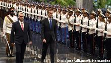 Kuba: Präsident Miguel Diaz-Canel und König Felipe