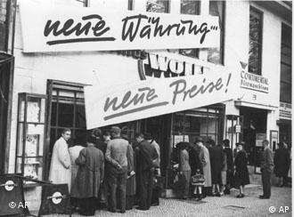 'Nova moeda, novos preços', após a reforma monetária de 1948