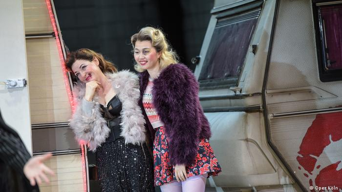 Ye Eun Choi actuando en Carmen, en la Ópera de Colonia.