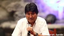 Mexiko | Bolivianischer Ex-Präsident Evo Morales