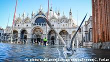 Italien | Hochwasser in Venedig