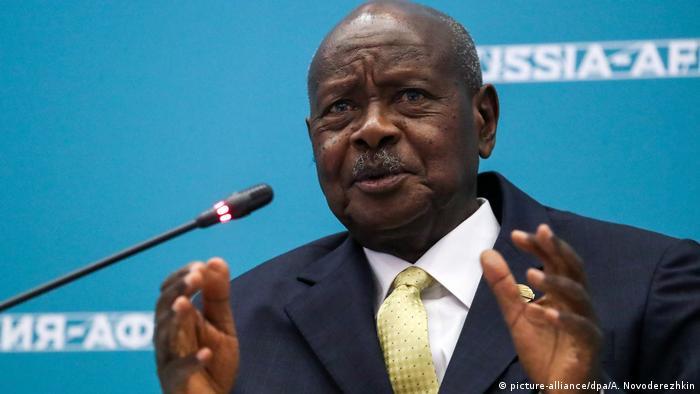 Yoweri Museveni (picture-alliance/dpa/A. Novoderezhkin)