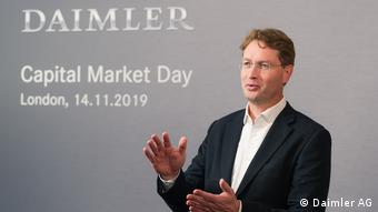 Kapitalmarkttag 2019 in London Ola Källenius Daimler cuts costs and sets course for the future (Daimler AG)
