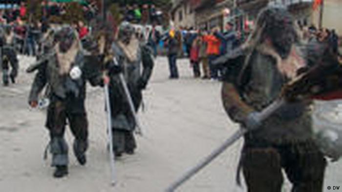 Karneval in Vevcani (DW)