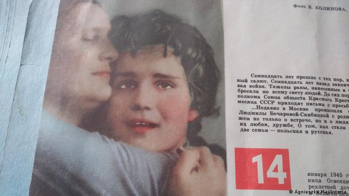 DW Schuld ohne Sühne - Lidia Maksymowicz in russischen Medien (Agnieszka Maj/Interia)