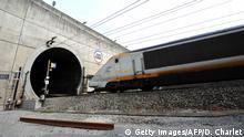 BG Eurotunnel | Eurostar auf der französischen Seite