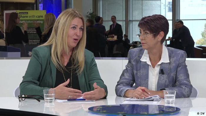 Elżbieta Łukacijewska (PO) i Christine Anderson (AfD) w Studiu Europa DW i Interii