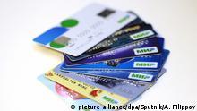 Russland Kreditkarten für das MIR Bezahlsystem