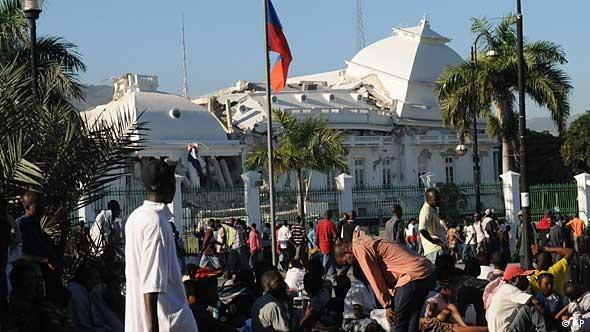 Haiti / Erdbeben / Port-au-Prince