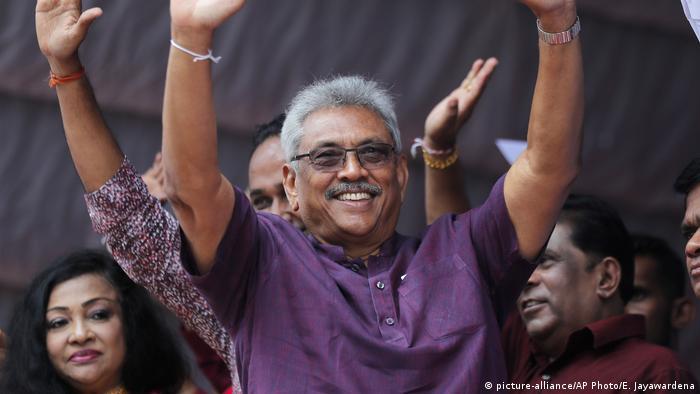 Sri Lanka Präsidentschaftswahlen