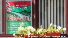 Weißrussland l Wahlkampf in Hrodna