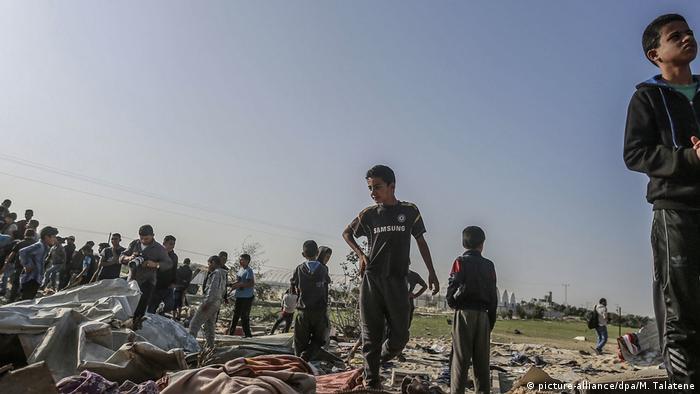 Luftangriff im Gazastreifen