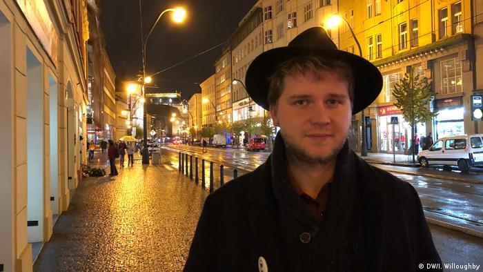 Tschechien 30 Jahre nach der Samtenen Revolution Benjamin Roll (DW/I. Willoughby)