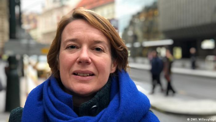 Tschechien 30 Jahre nach der Samtenen Revolution Magdalena Platzova (DW/I. Willoughby)