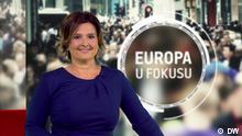 Titel: Europa u fokusu 46//2019 2. Beschreibung: Moderation Dunja Dragojevic 3. DW, 14.11. 2019 4. Schlagworte: Fokus Europa, TV-Magazin