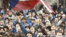 Samtene Revolution Prag (1989)