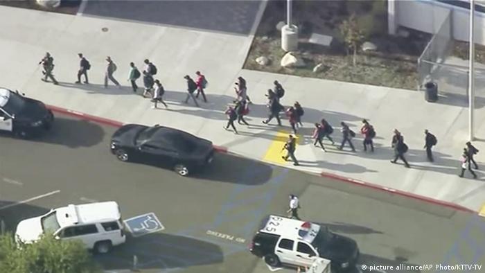 USA Kriminalität l Amoklauf an einer High School in Santa Clarita