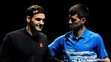 Tennis ATP Finals Roger Federer - Novak Djokovic