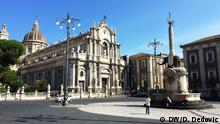 Italien Stadt Catania in Sizilien