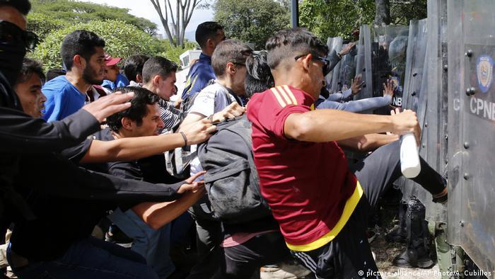 Venezuela Studentenprotest