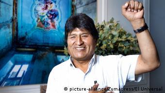 Mexiko Präsident Evo Morales