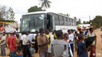 Mozambique Überlandbus