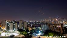 Gaza Israel Raketenabwehrsystem Iron Dome