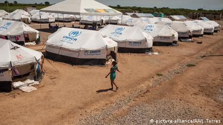 Kolumbien UNHCR-Camp in Maicao (picture-alliance/AA/J. Torres)