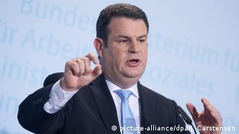 Almanya Çalışma Bakanı Hubertus Heil (SPD)