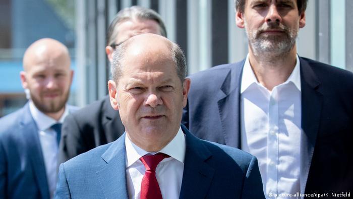 Niemiecki minister finansów Olaf Scholz