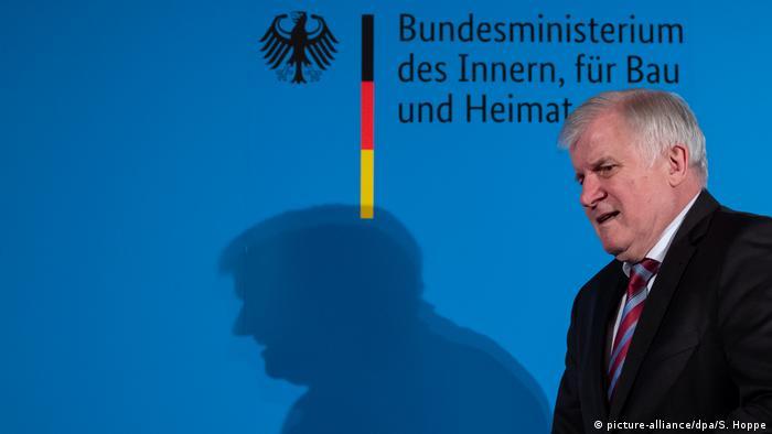 Niemiecki minister spraw wewnętrznych Horst Seehofer