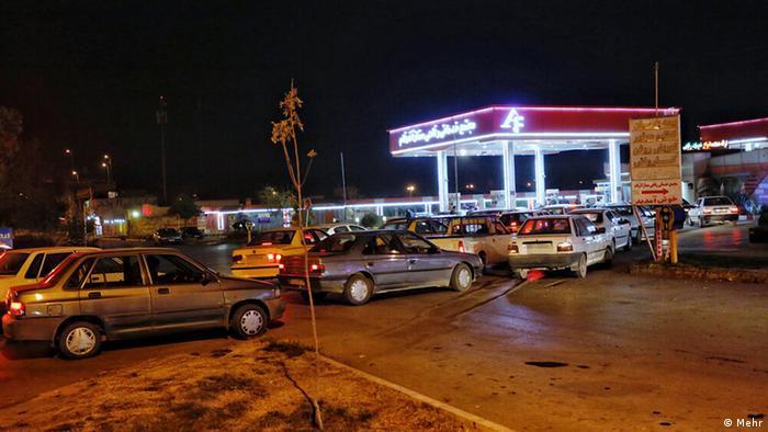 Iran Symbolbild Erhöhung Benzinpreis