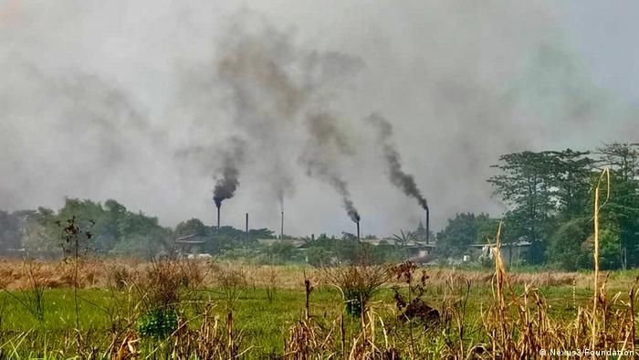 Indonesien Plastikmüllverbrennung Energie Tofufabriken (Nexus3 Foundation )