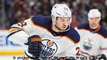 NHL | Colorado Avalanche | Edmonton Oilers (picture-alliance/dpa/CSM via ZUMA Wire/S. D Stivason)