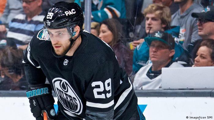 Leon Draisaitl at the NHL All-Star Game (Imago/Icon SMI)