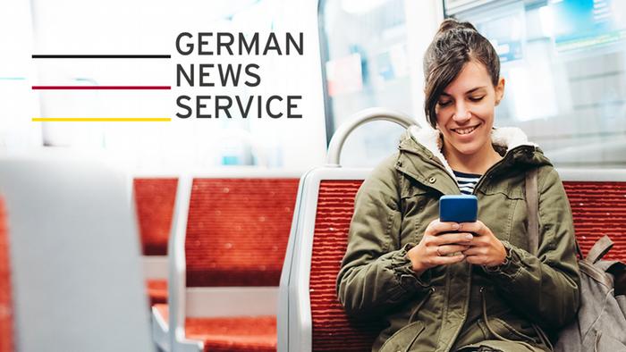 DW Kampagne German News Service / Englisch für Russ.