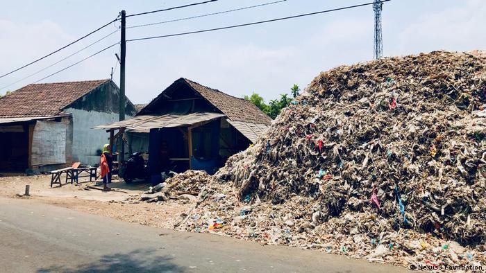Indonesien Plastikmüllverbrennung Energie Tofufabriken (Nexus3 Foundation)